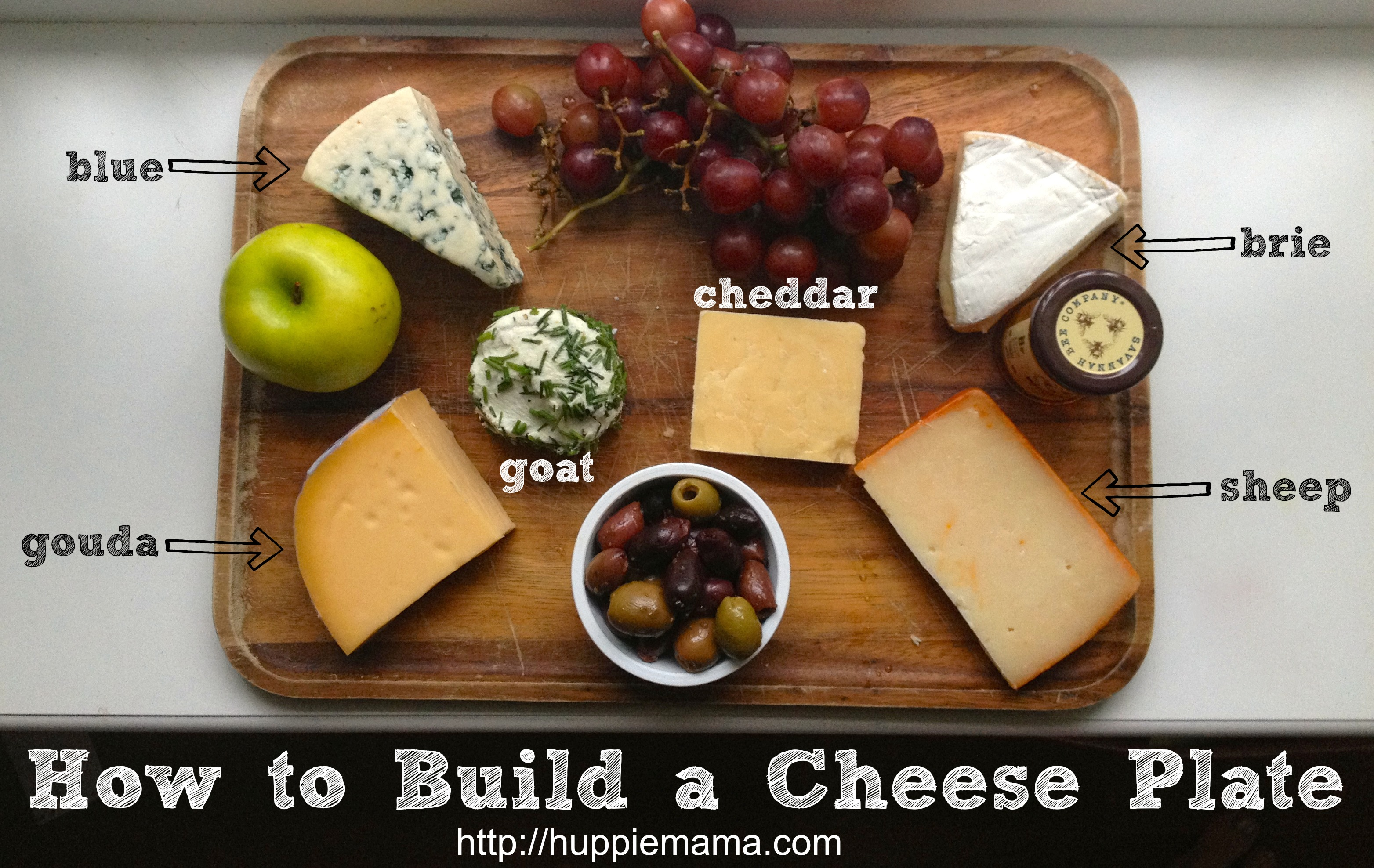 & How to Build a Cheese Plate - Our Potluck Family