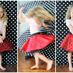Full Circle Skirt Sewing Tutorial #disneyside