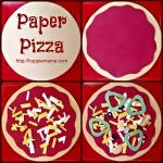 Kids Food Craft: Paper Pizza
