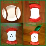 Food Craft: Paper Plate Apple