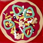 Kids Food Craft: Paper Pizza