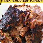 Pork Shoulder Roast recipe & Caribbean Dinner Ideas