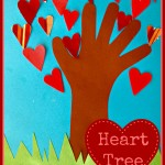 Valentine's Day Craft: Heart Tree