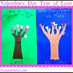 Valentine's Day Craft: Tree of Love