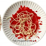 Kids Food Craft: Spaghetti and Meatballs