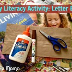 Early Literacy Activity: Letter Bags