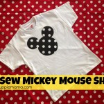 No Sew Mickey Mouse Shirt Video Tutorial
