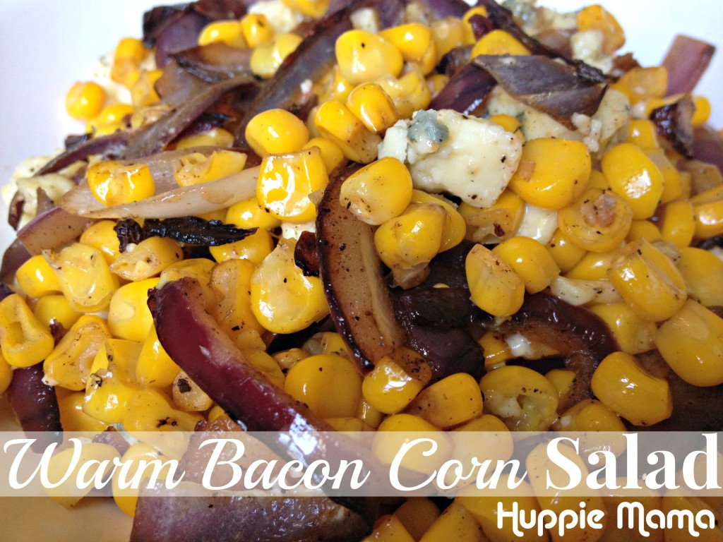 Warm Bacon Corn Salad