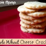 Homemade Whole Wheat Cheese Crackers