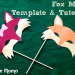 Kids Craft: Paper Fox Mask