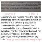 UPDATE: Did Frontier Change their Breastfeeding Policy?