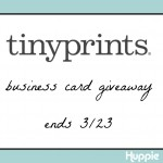 Giveaway: Tiny Prints Business Cards
