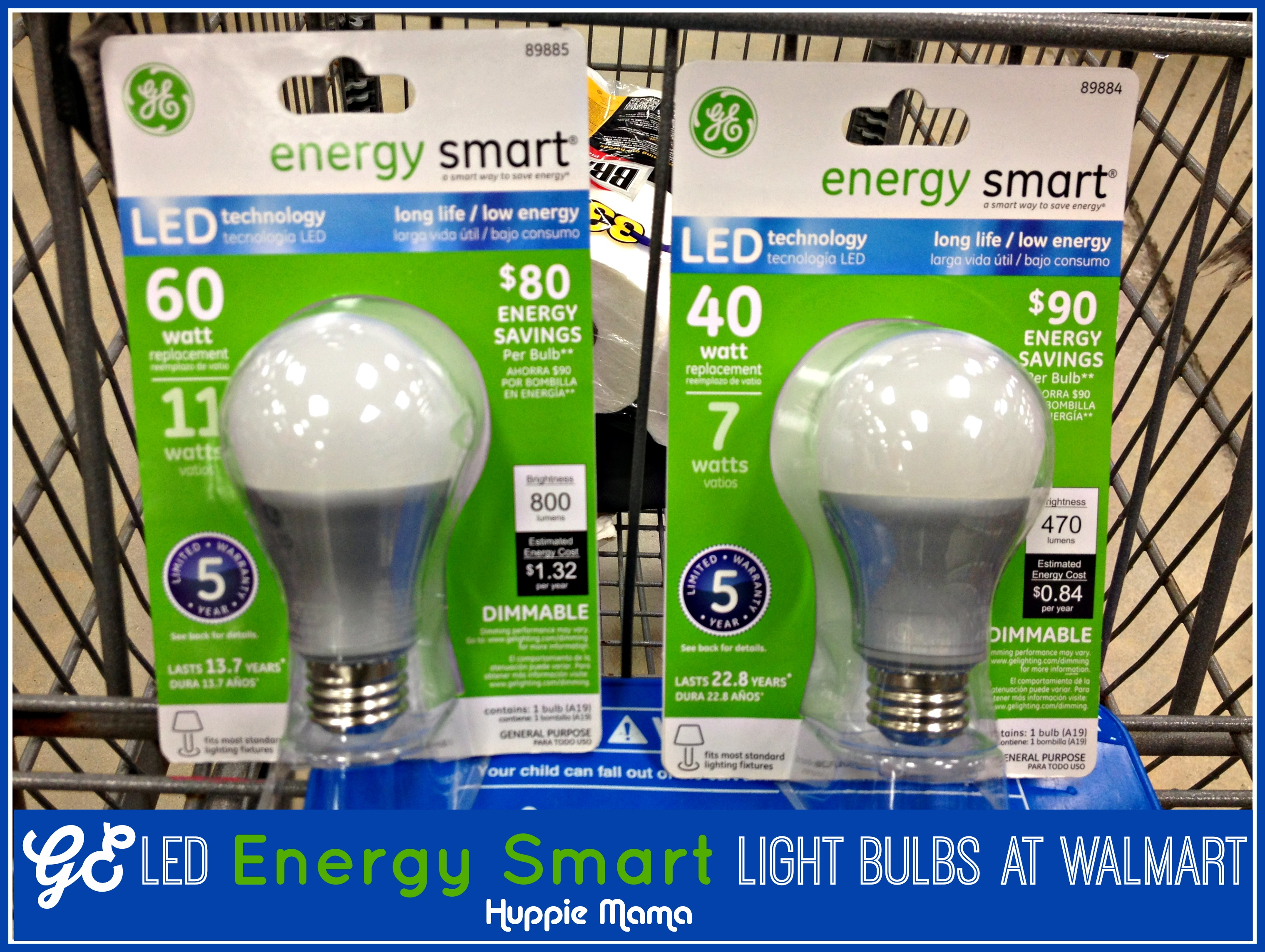 Conserve Energy & Save Money with GE LED Power