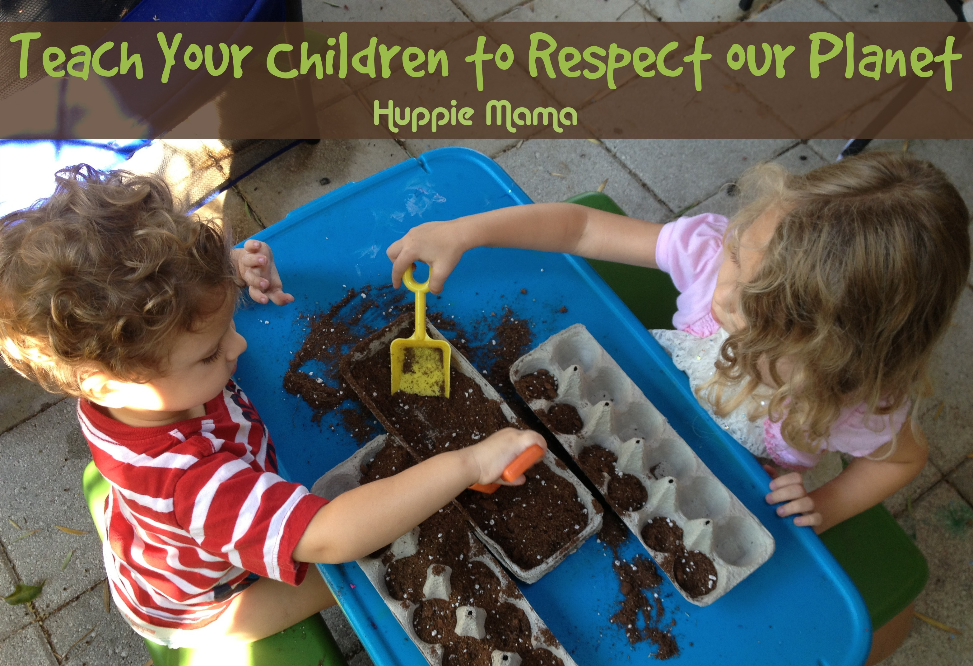 5 Ways to Teach Your Children to Respect our Planet