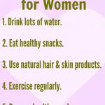5 Healthy Habits for Women