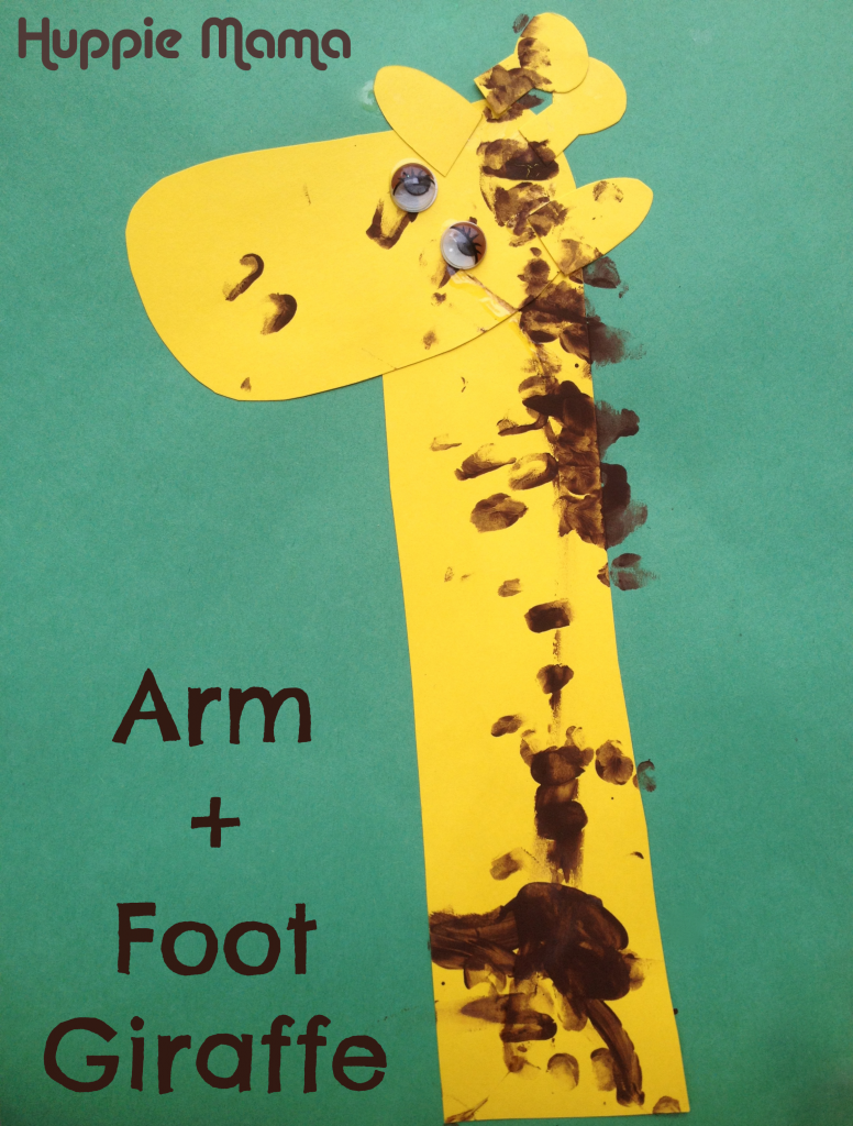 Arm and Foot Giraffe