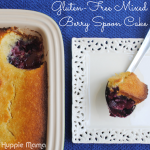 Gluten-Free Mixed Berry Spoon Cake