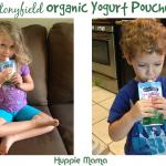 Stonyfield's New Organic Yogurt Pouches