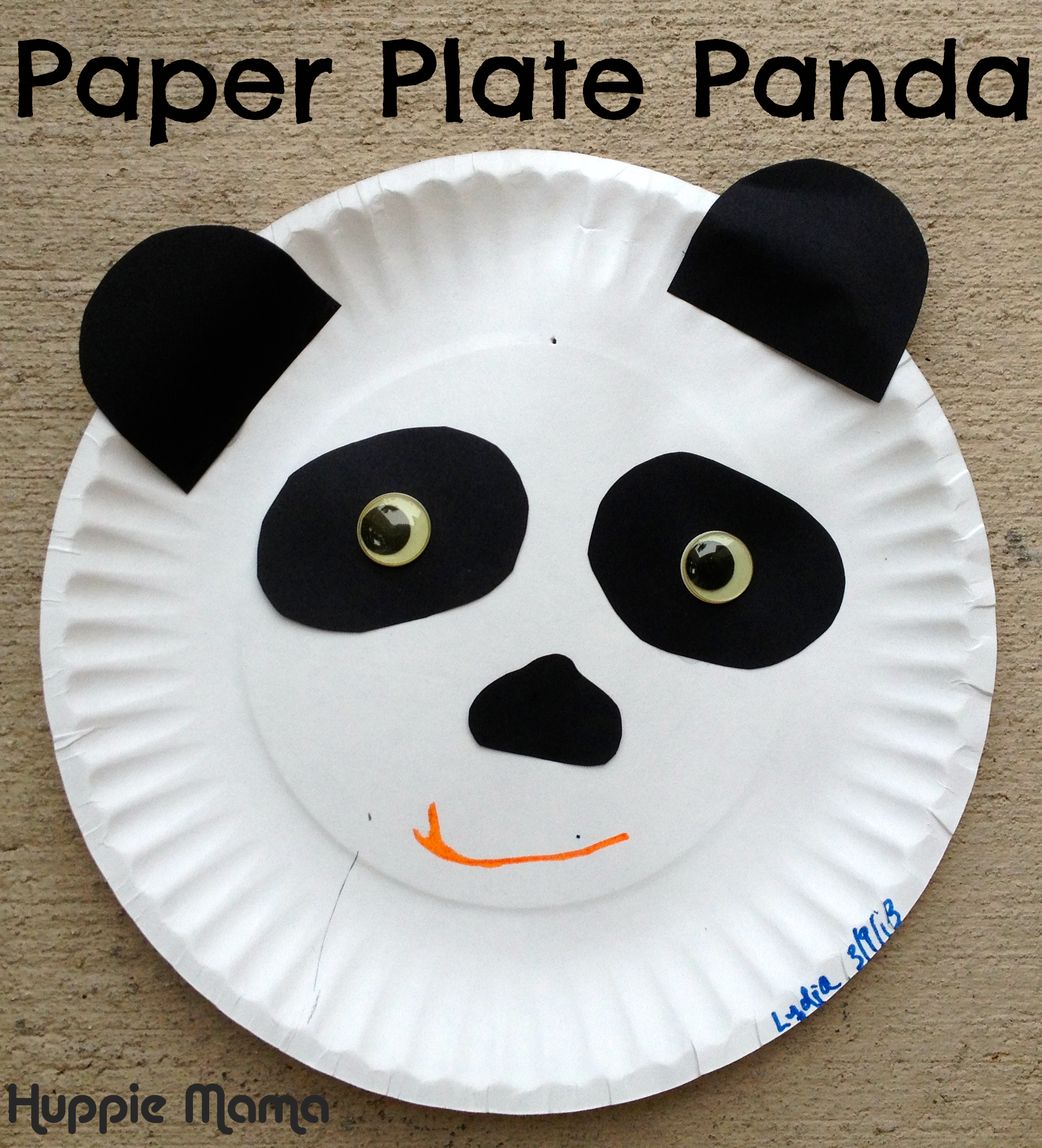 panda crafts for preschoolers paper plate panda our potluck family 496