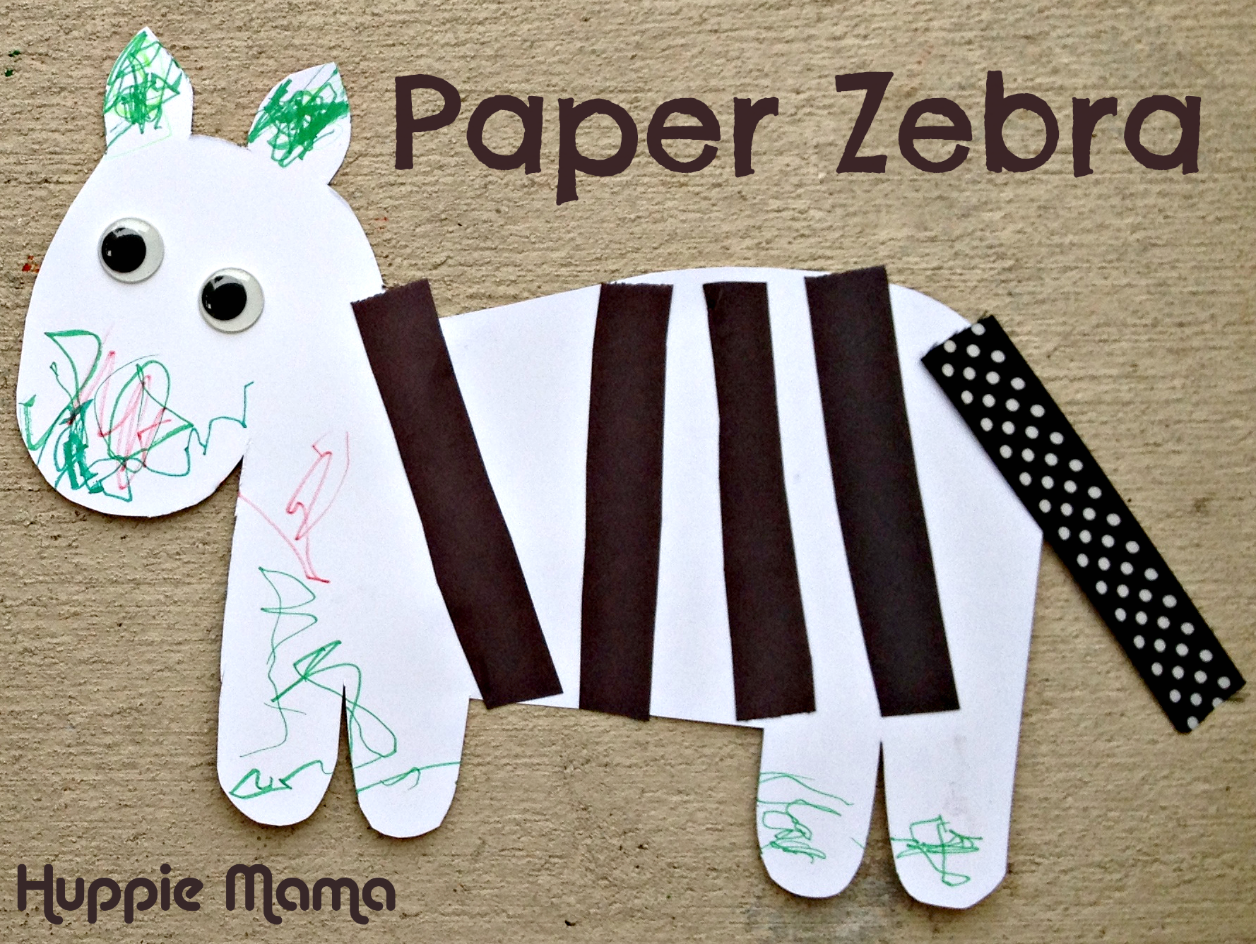 Fun Diy Home Decor Ideas Paper Zebra Our Potluck Family