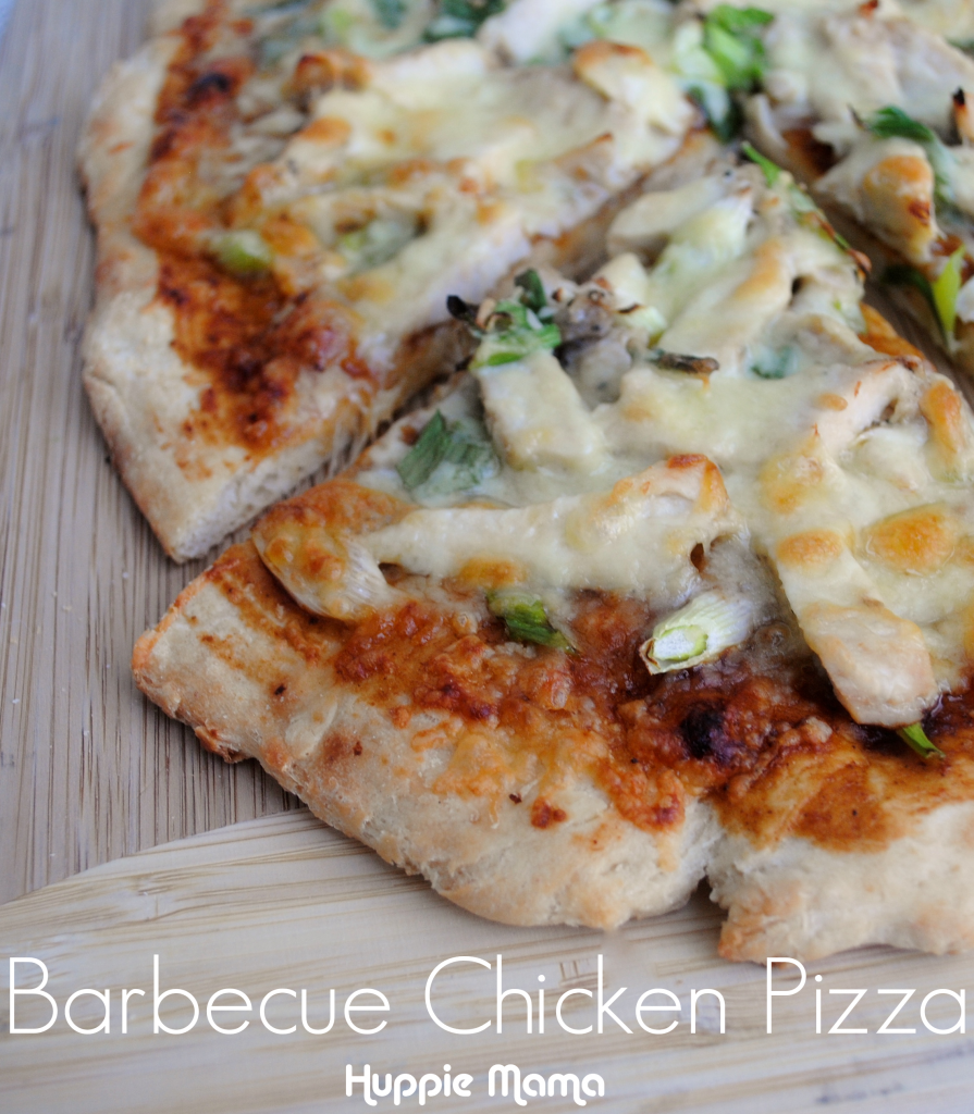 Quick and Healthy Barbecue Chicken Pizza