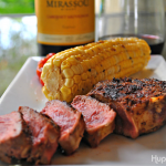 Espresso Rubbed Steak and Wine Pairing