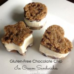 Gluten-Free Chocolate Chip Ice Cream Sandwiches