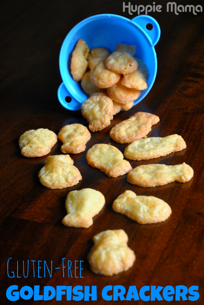 Gluten-Free Goldfish Crackers