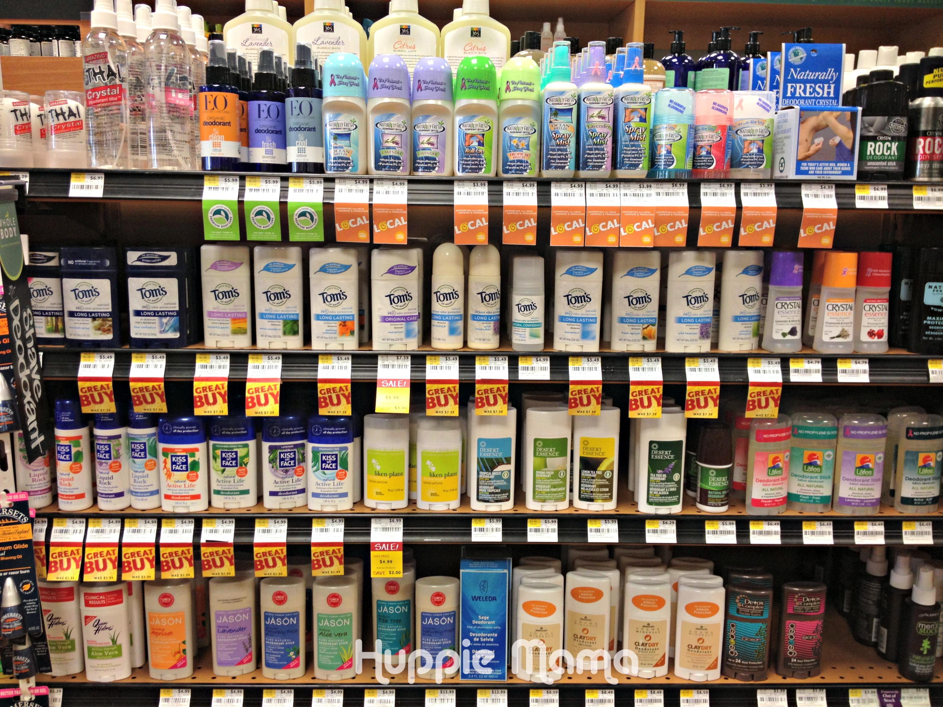 Whole Foods Shampoo Aisle