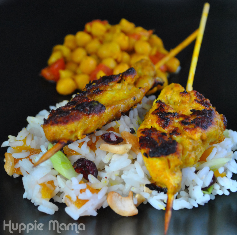 Grilled Curry & Kefir Marinated Chicken With Grilled Onions Recipes ...