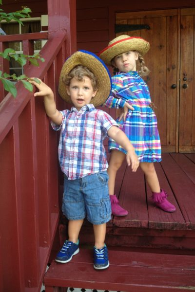 Two Kids on a Farm