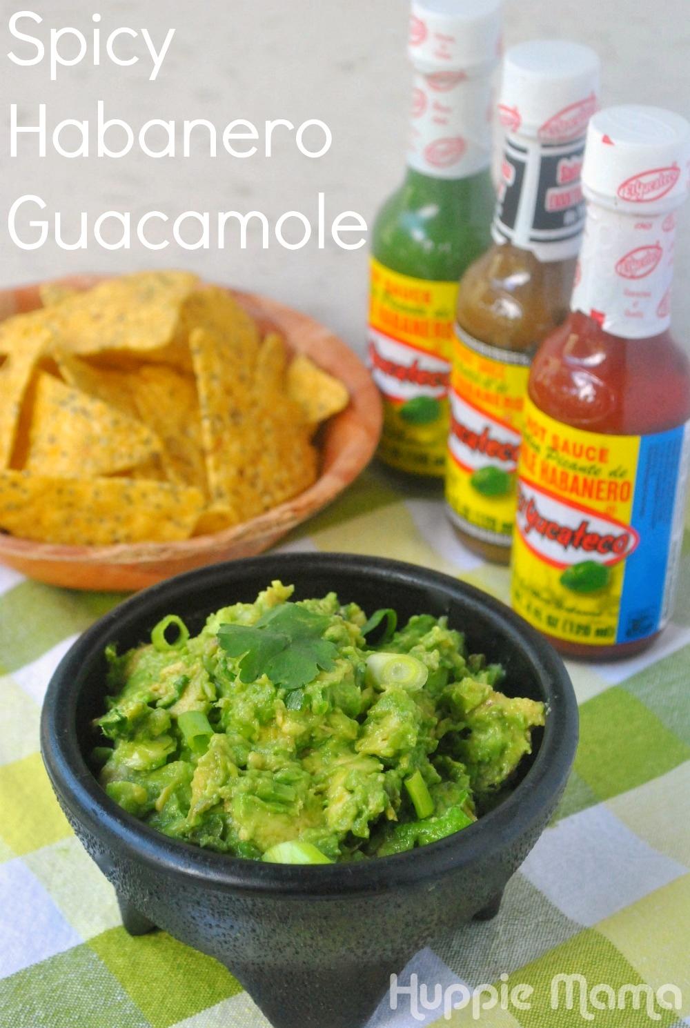 Spicy Habanero Guacamole #shop - Our Potluck Family