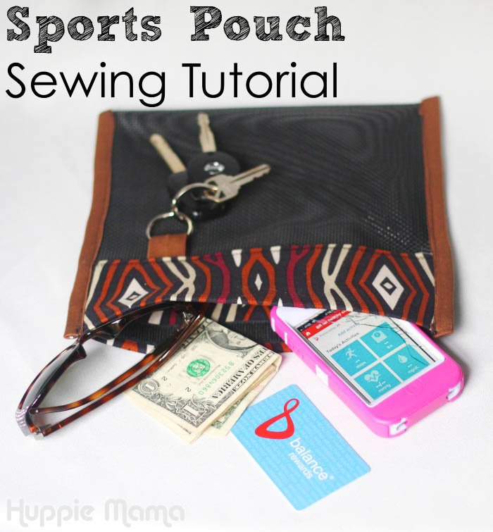 Sports Pouch Sewing Tutorial