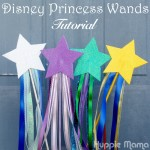 Disney Princess Wands Craft Tutorial