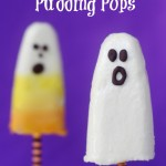 Halloween Pudding Pops