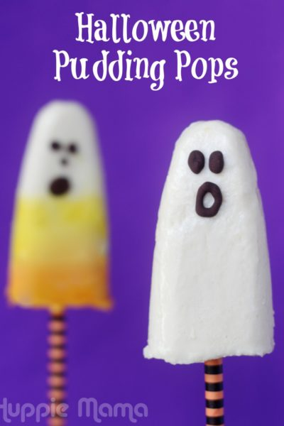 Halloween Pudding Pops