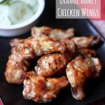 Baked Orange Honey Chicken Wings