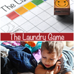 Play The Laundry Game {PRINTABLE}