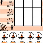 Halloween Tic Tac Toe {PRINTABLE}