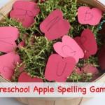 Preschool Apple Spelling Game