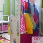 DIY Closet for Princess Costumes