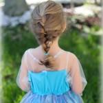 Frozen Hairstyle: Elsa's Icy Braid