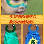 Superhero Sewing Tutorial & Makeup Remover Tips