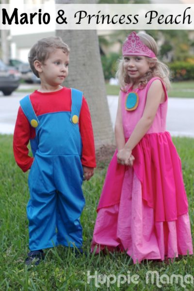 Princess Peach Costume Sewing Tutorial