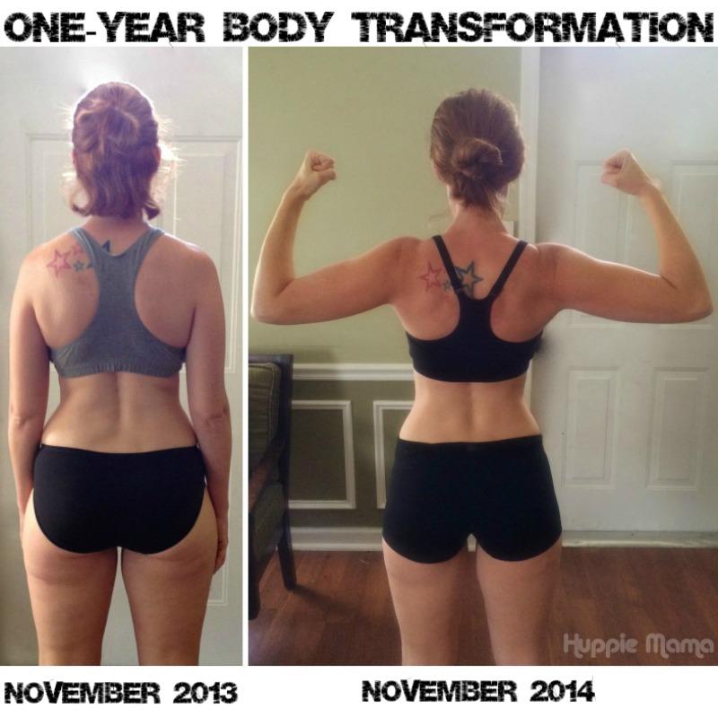 One Year Body Transformation