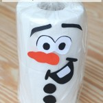 Winter Craft: Toilet Paper Olaf