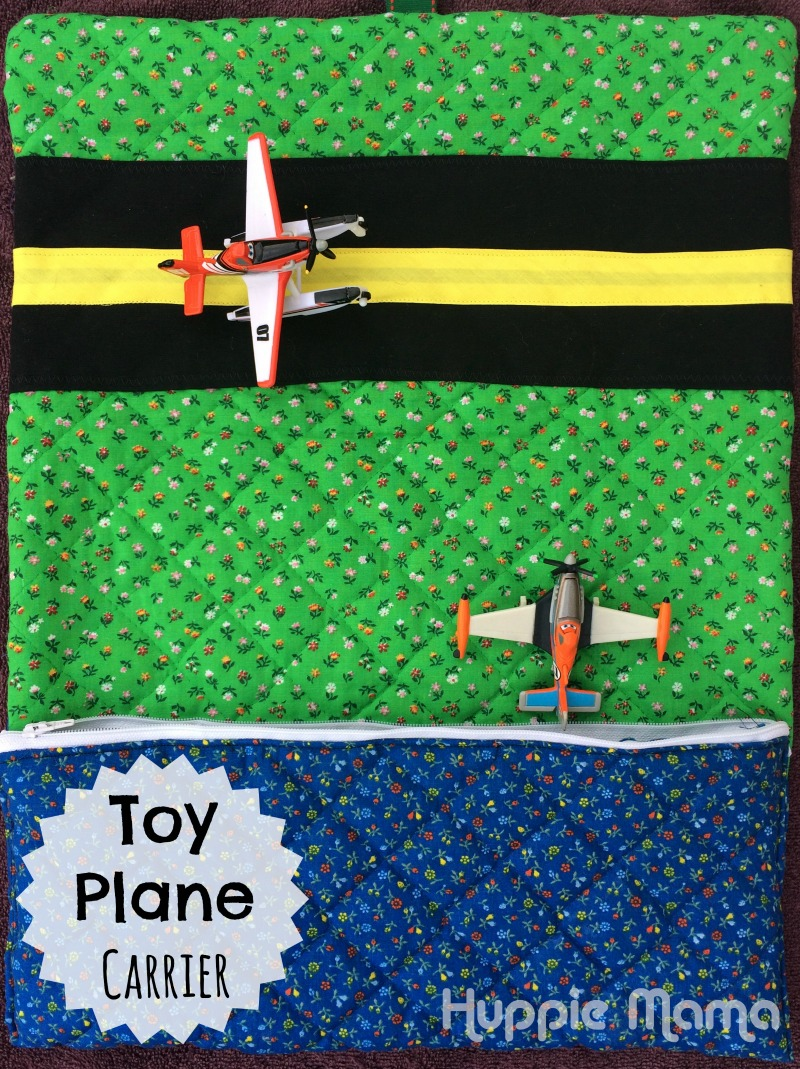Toy Plane Carrier Sewing Tutorial