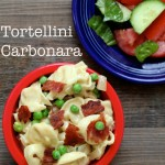 Tortellini Carbonara in Just 20 Minutes