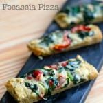 Gluten-Free Focaccia Pizza {VIDEO}