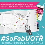 RSVP for the #SoFabUontheRoad Twitter Party